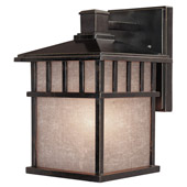 Craftsman/Mission Barton Outdoor Wall Sconce - Dolan Designs 9110-68