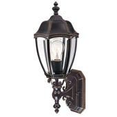 Traditional Roseville Outdoor Wall Sconce - Dolan Designs 950-20