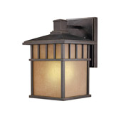 Craftsman/Mission Barton Energy Star Outdoor Wall Sconce - Dolan Designs 9715-68