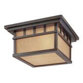 Craftsman/Mission Barton Energy Star Outdoor Flush Mount Ceiling Fixture - Dolan Designs 9719-68