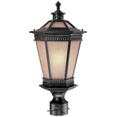 Traditional Vintage Energy Star Outdoor Post Mount - Dolan Designs 9797-68