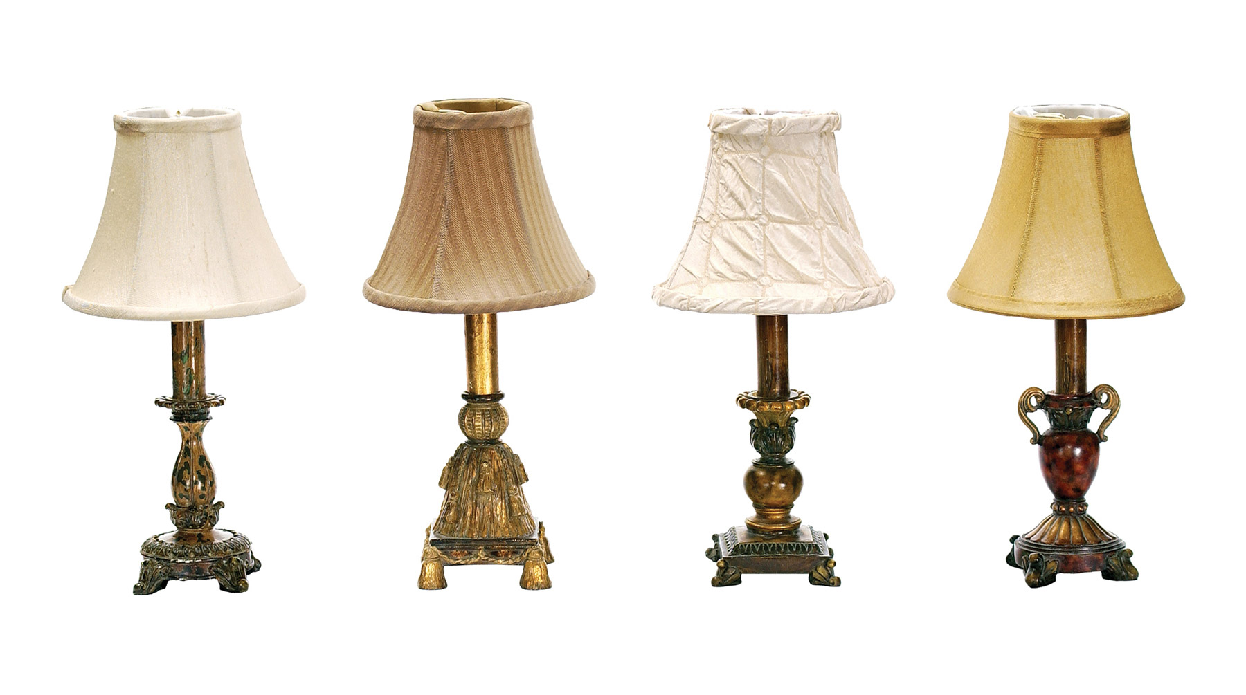 93 345 Library Accent Lamps Set Of 4