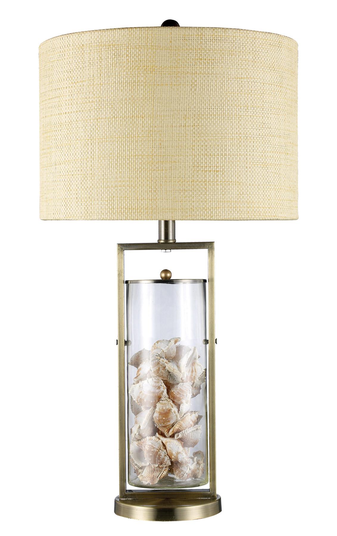 Great Dimond D1978 Millisle Seashells Table Lamp