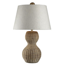 ELK Home 111-1088 Sycamore Hill Rattan Table Lamp