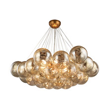 ELK Home 1140-011 Cielo 6 Light Chandelier In Antique Gold Leaf