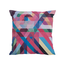 Dimond 7011-1136 Color Ribbons Pillow