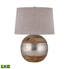 ELK Home 8983-020-LED German Silver LED Table Lamp