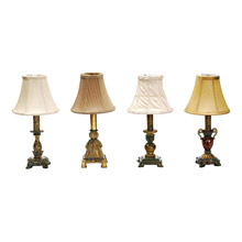 Captivating Dimond 93 345 Library Accent Lamps Set Of 4