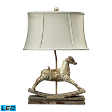 ELK Home 93-9161-LED Carnavale Rocking Horse LED Table Lamp in Clancey Court Finish