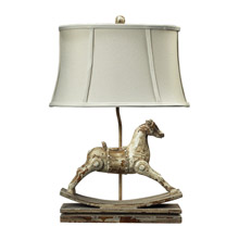 ELK Home 93-9161 Carnavale Oval Rocking Horse Table Lamp