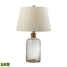 ELK Home D137-LED Glass Bottle Clear LED Table Lamp With Cork Neck