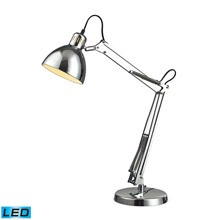 ELK Home D2176-LED Ingelside LED Desk Lamp In Chrome With Chrome Shade