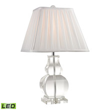 ELK Home D2487-LED Downtown Solid Crystal LED Table Lamp