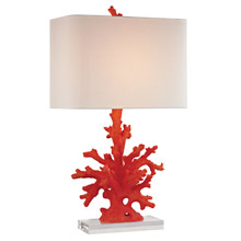 ELK Home D2493 Red Coral Table Lamp