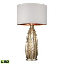 Dimond D2533-LED Pennistone Antique Gold Mercury LED Table Lamp in Polished Nickel
