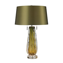 ELK Home D2670 Modena Free Blown Glass Table Lamp in Green