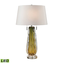 ELK Home D2670W-LED Modena Free Blown Glass LED Table Lamp in Green