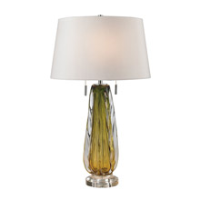 ELK Home D2670W Modena Free Blown Glass Table Lamp in Green