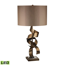 Dimond D2688-LED Allen Metal Sculpture LED Table Lamp in Roxford Gold