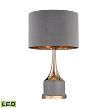 ELK Home D2748-LED Small Gold Cone Neck LED Lamp