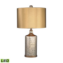Dimond D2774-LED Gold Mercury LED Table Lamp With Metallic Shade