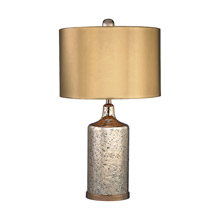 Dimond D2774 Mercury Lamp Gold Mercury Table Lamp With Metallic Shade