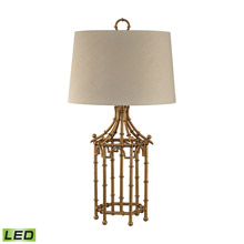 Dimond D2864-LED Bamboo Birdcage LED Table Lamp