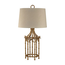 Dimond D2864 Bamboo Birdcage Table Lamp