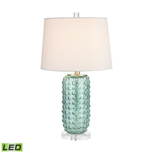 ELK Home D2924-LED Caicos 1 Light LED Table Lamp In Green