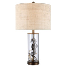 ELK Home D1980 Largo Seahorse Table Lamp