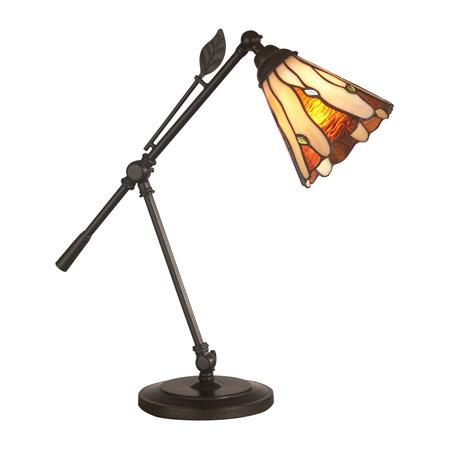 Dale Tiffany Ta11158 Tiffany Leaf Desk Lamp