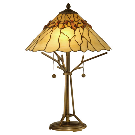 Dale Tiffany Tt10598 Tiffany Branch Base Table Lamp