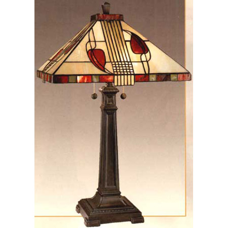 Beautiful Dale Tiffany 2721/739 Henderson Mission Table Lamp