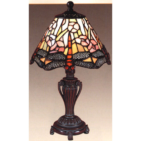 Dale Tiffany 8033 640 Tiffany Dragonfly Accent Lamp