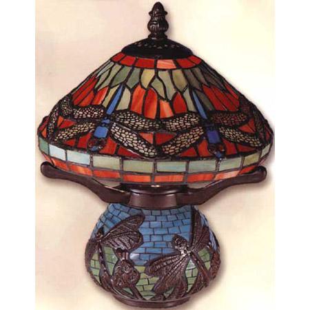 Dale Tiffany 8774 Tiffany Dragonfly Mini Accent Lamp