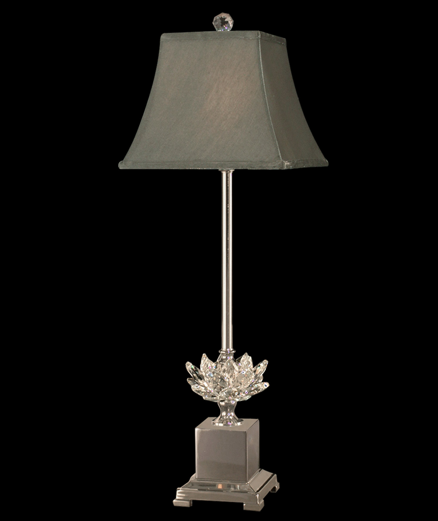 Dale Tiffany Gb11208 Crystal Lucinda Buffet Lamp