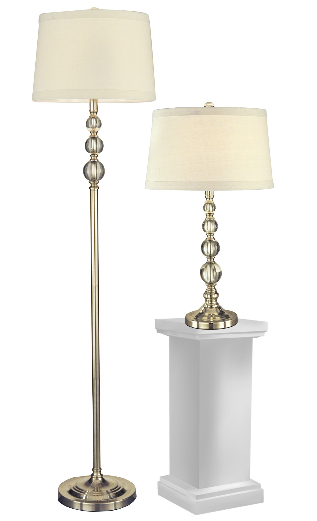 Dale tiffany gc12290 crystal optic orb table and floor lamp set 1 dale tiffany gc12290 crystal optic orb table and floor lamp set 1 of each aloadofball