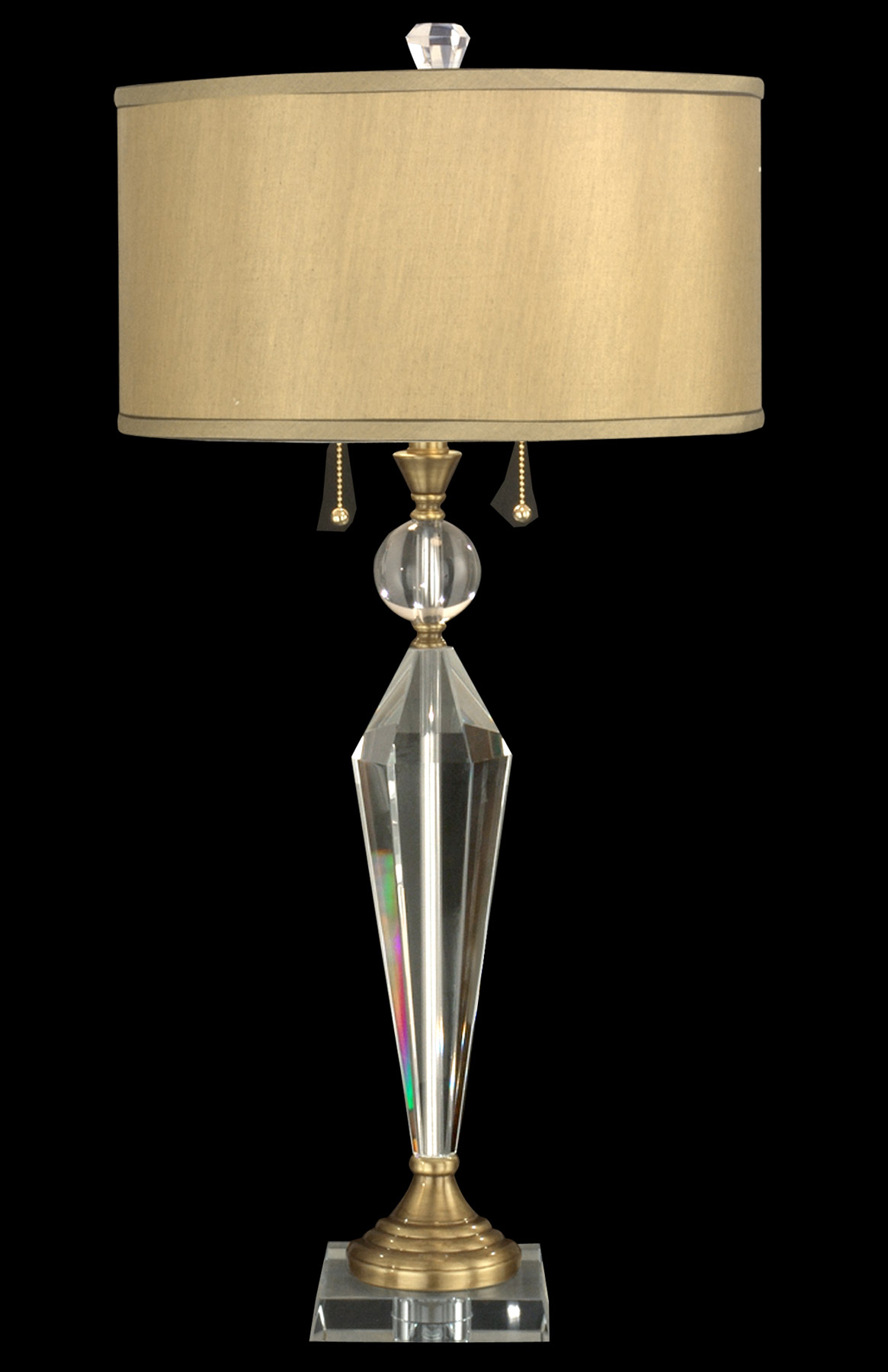 Dale Tiffany Gt701218 Crystal Strada Table Lamp