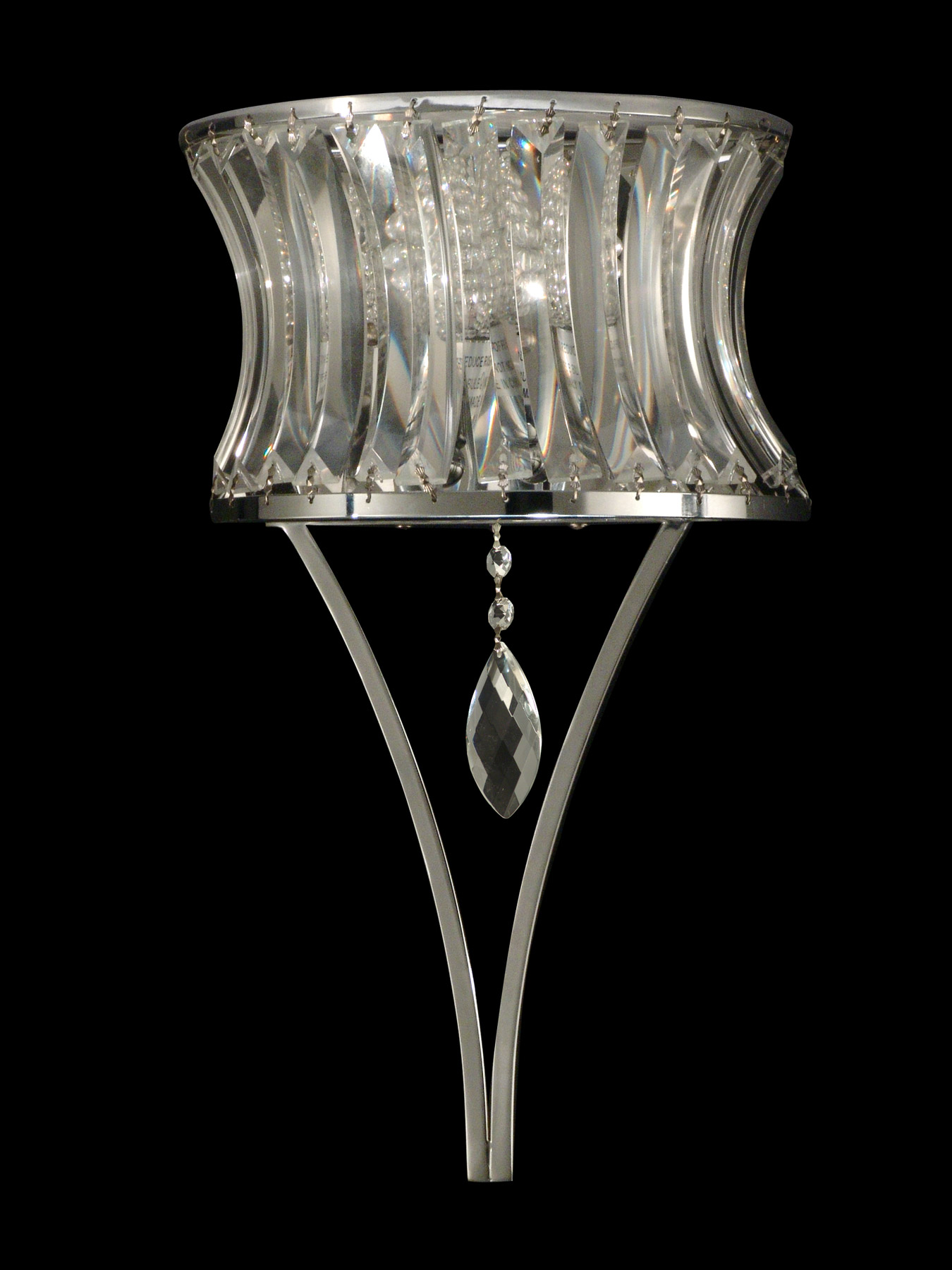Wall Sconces Crystal : Dale Tiffany GW10736 Crystal Oceanview Wall Sconce
