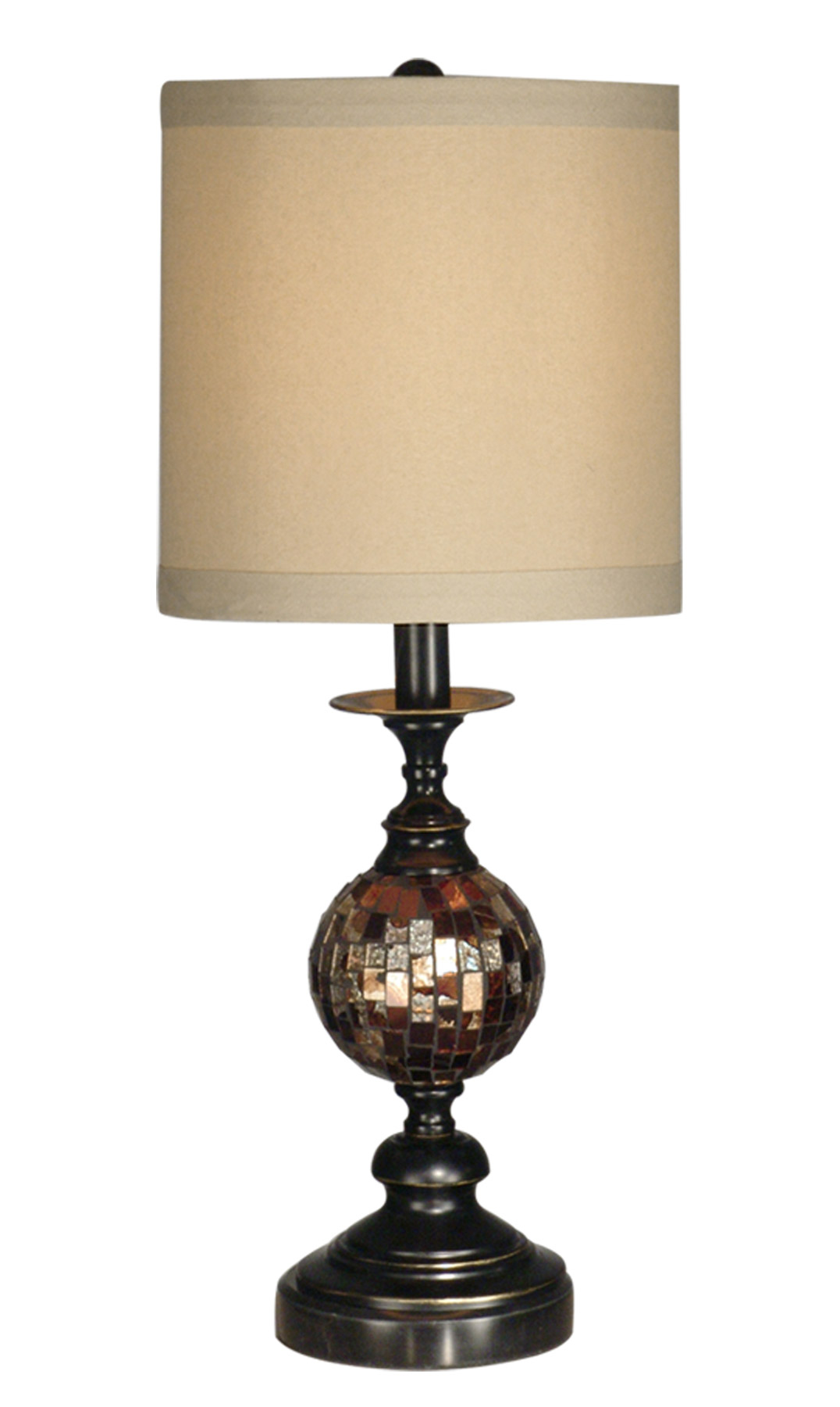 Dale Tiffany Pg10352 Mosaic Ball Table Lamp