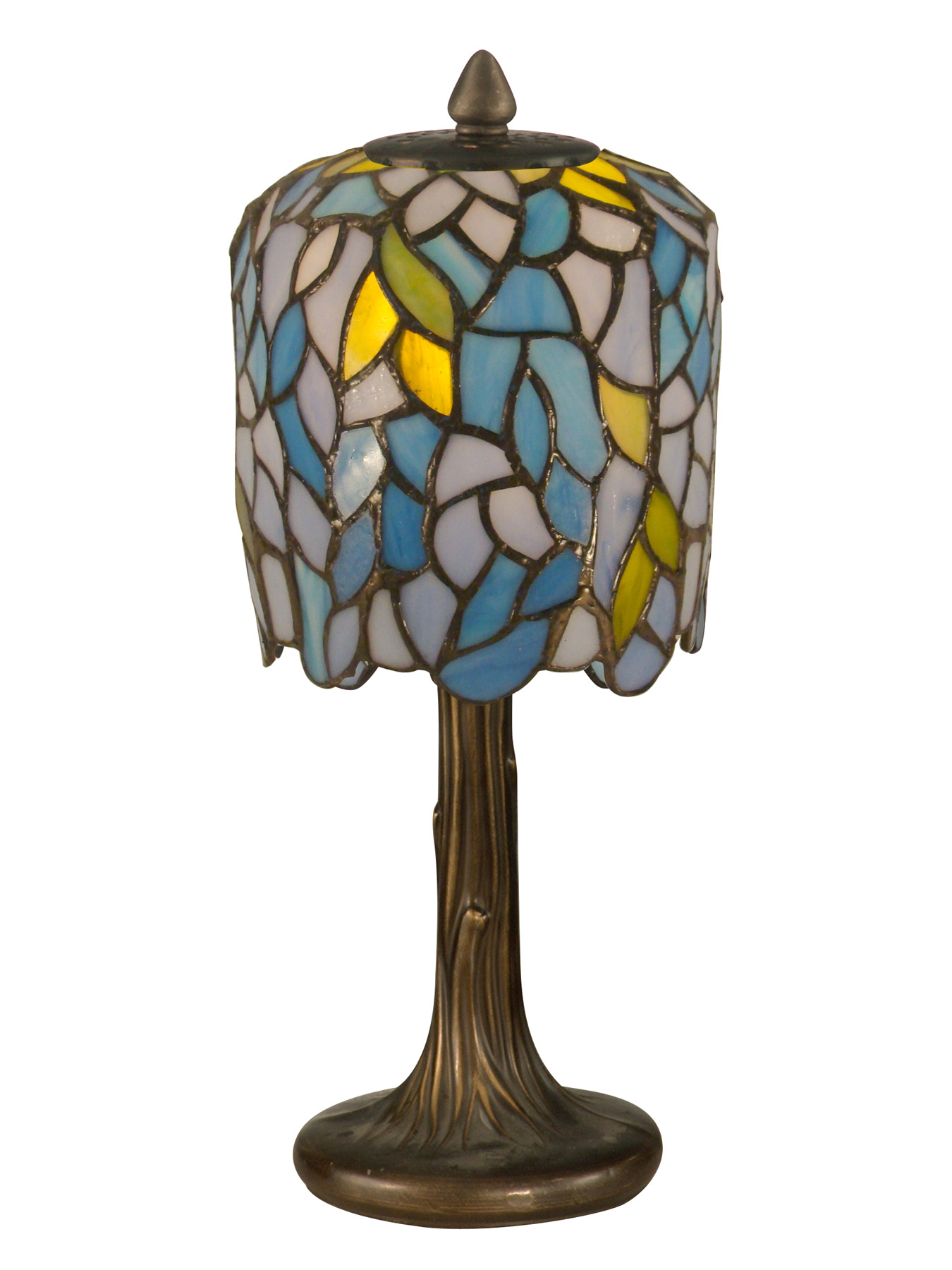 Dale Tiffany Ta11200 Tiffany Wisteria Mini Accent Lamp