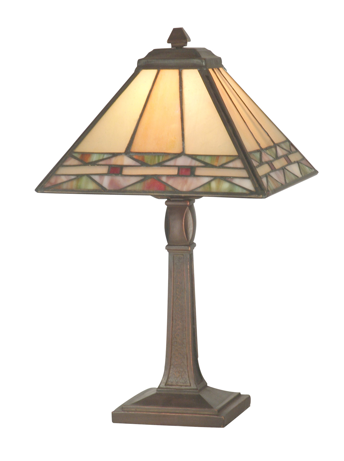 Dale Tiffany Ta70678 Craftsman Slayter Miniature Accent Lamp