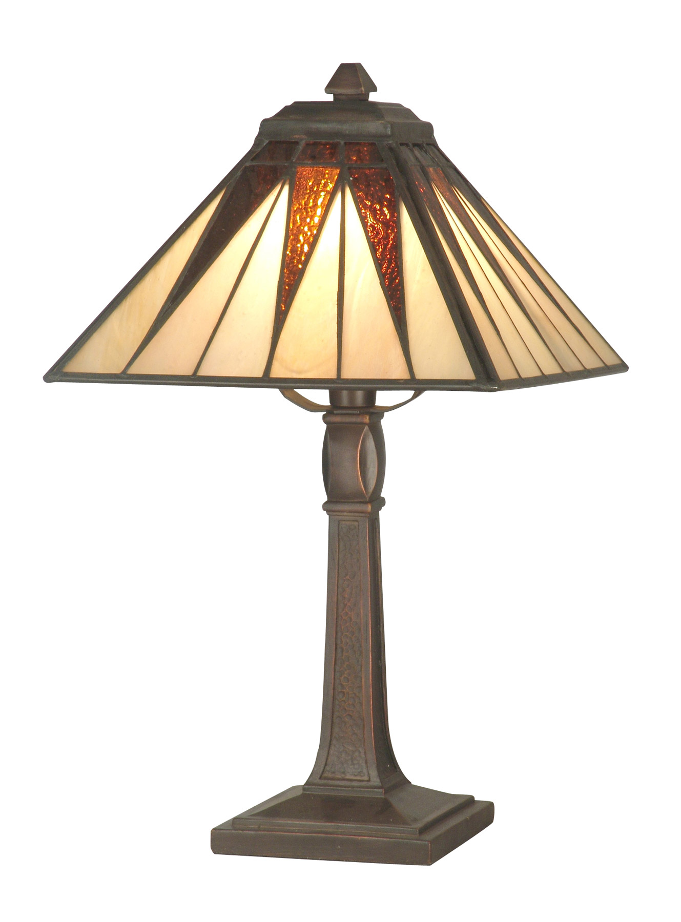 Dale Tiffany Ta70680 Craftsman Cooper Miniature Accent Lamp