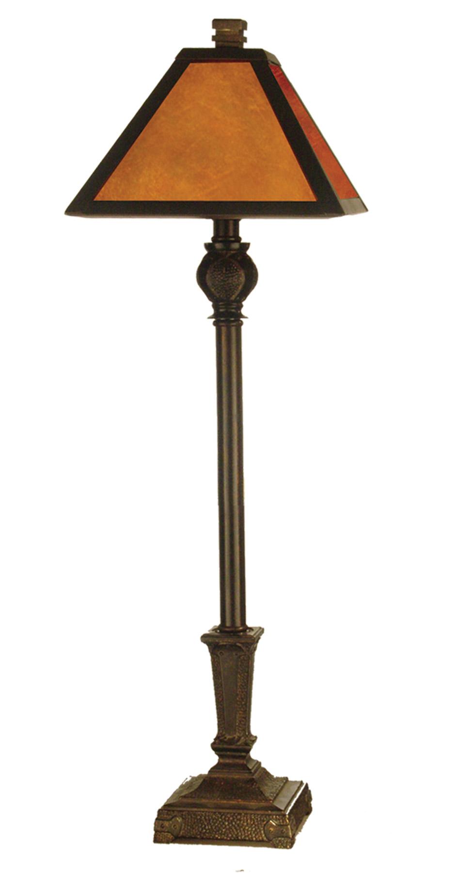 dale tiffany tb11012 craftsman buffet lamp. Black Bedroom Furniture Sets. Home Design Ideas