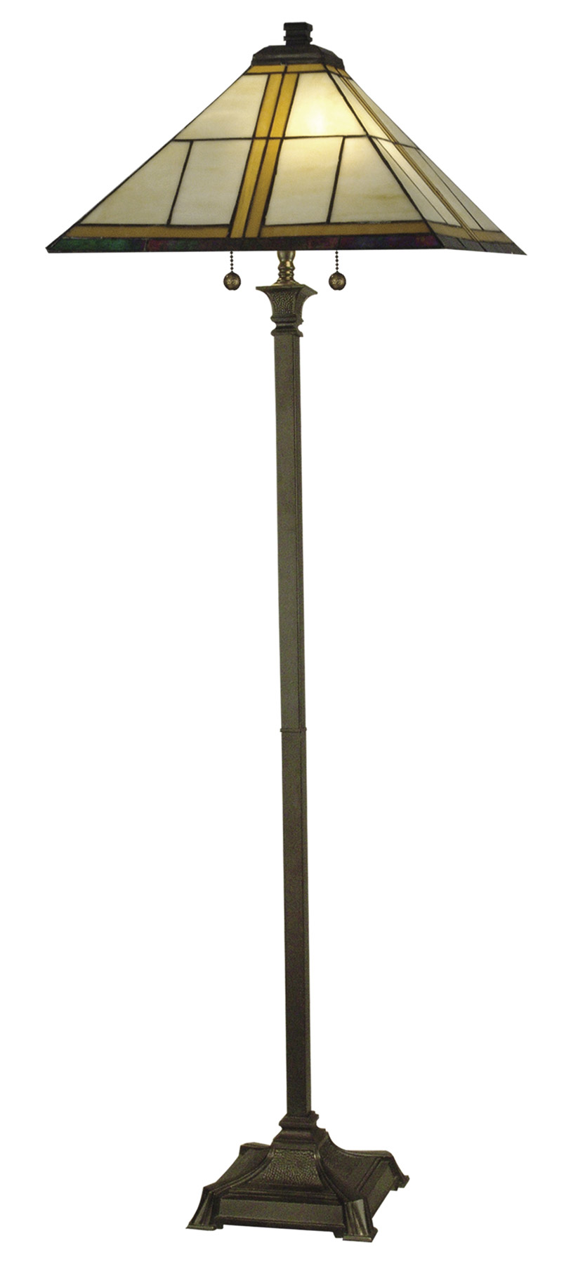 Dale Tiffany TF10497 Craftsman Floor Lamp