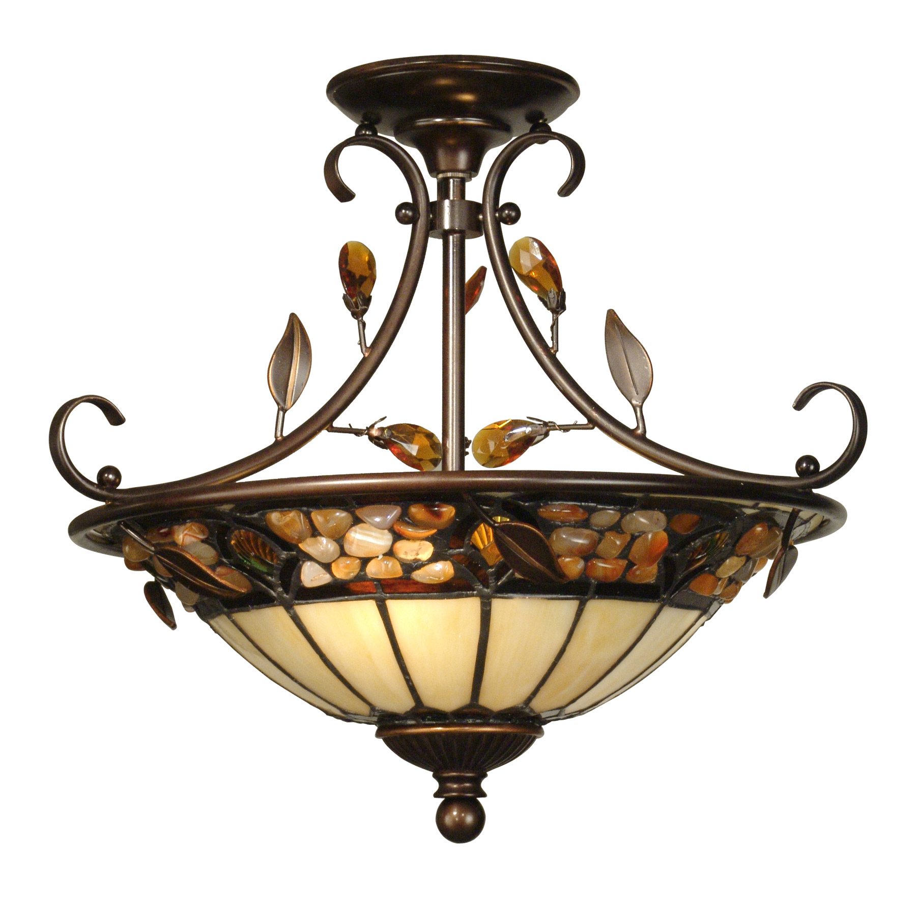 Tiffany Hanging Light Fixtures Lighting Close To Ceiling Light Fixtures Semi Flush Mount Dale Tiffany