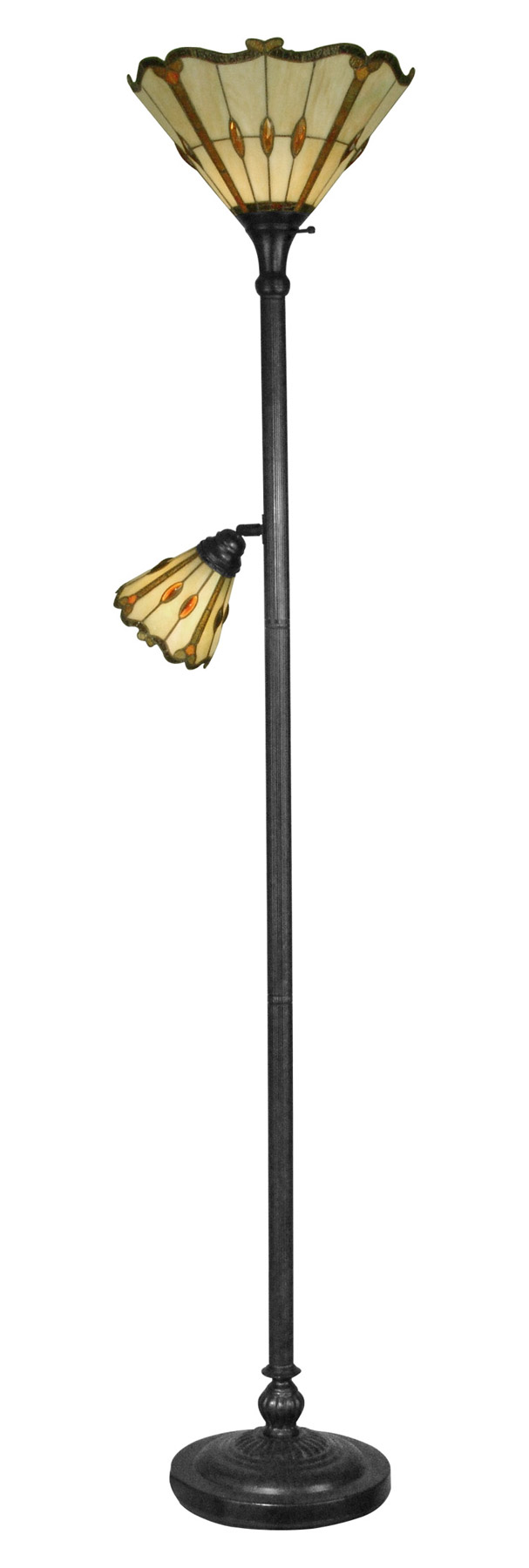 home lamps floor lamps torchiere dale tiffany tr10021. Black Bedroom Furniture Sets. Home Design Ideas