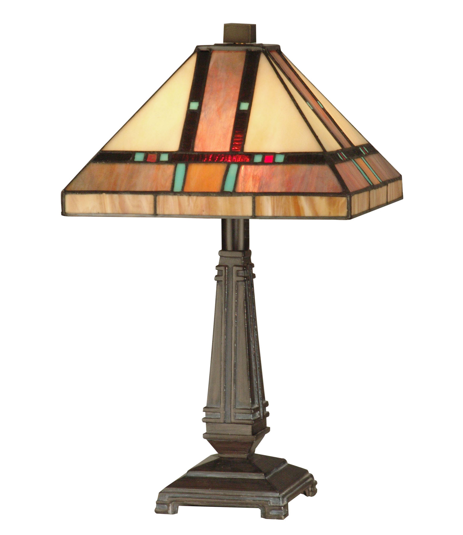 Dale Tiffany Tt10090 Craftsman Petite Table Lamp