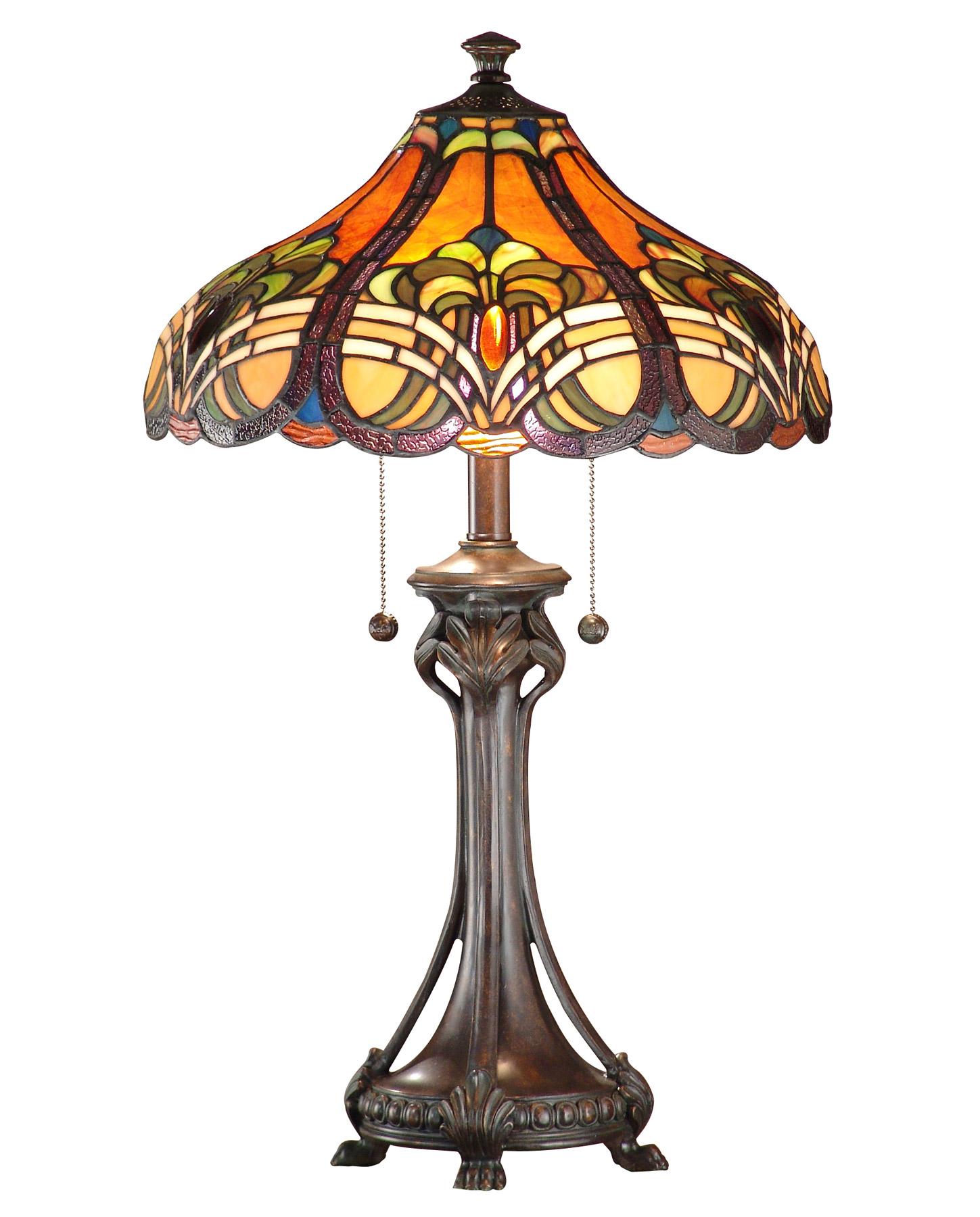 Dale Tiffany Tt101033 Tiffany Bellas Table Lamp