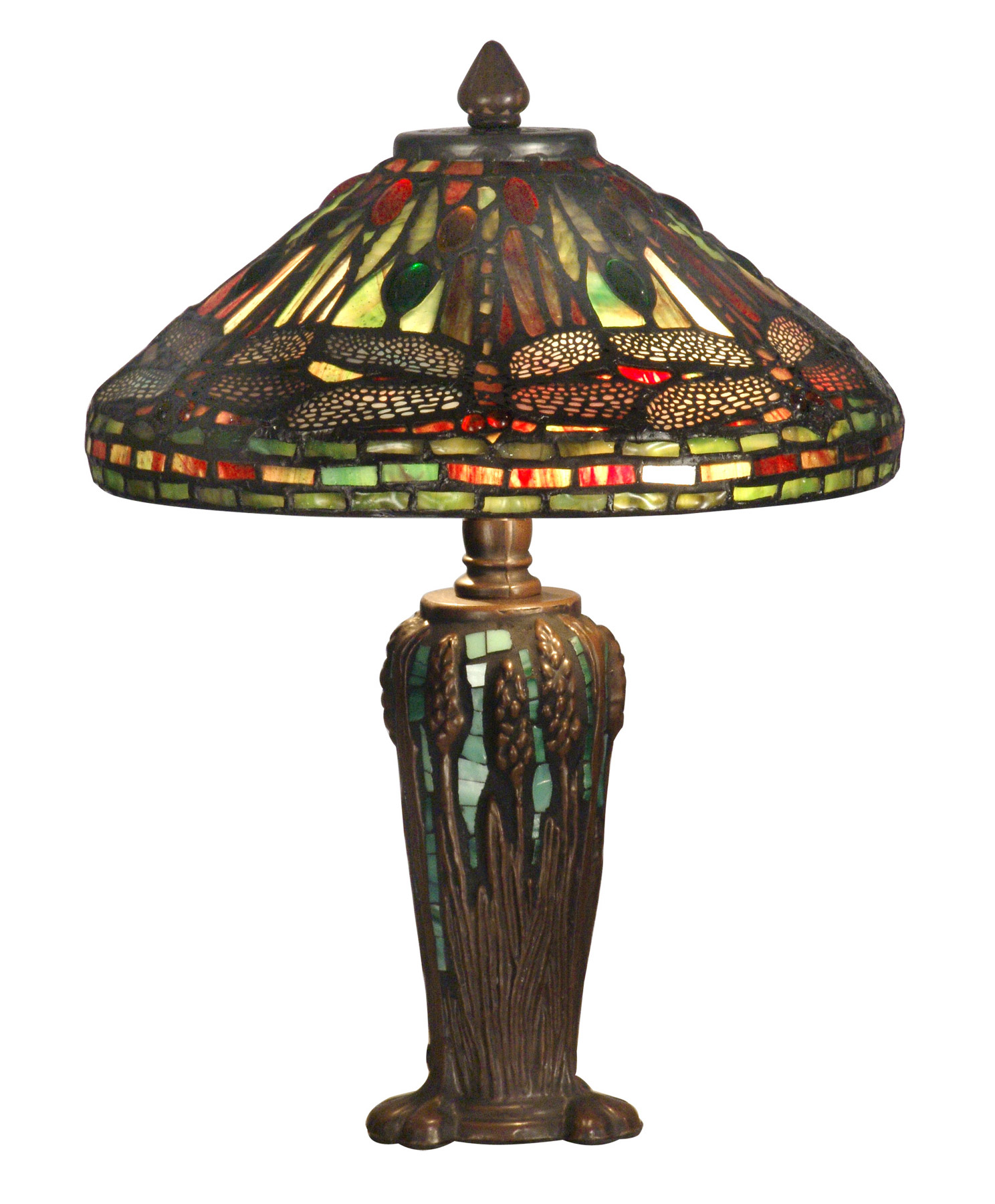 home lamps table lamps accent lamps dale tiffany tt10333. Black Bedroom Furniture Sets. Home Design Ideas